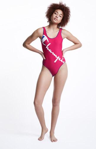 5d6161f6b18 Dámske ružové plavky Champion