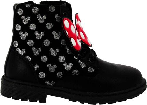 Disney by Arnetta Dievčenské členkové topánky Minnie - čierne - Glami.sk 743078fefaa