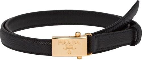 Prada logo-plaque belt - Black - Glami.sk accfede3479