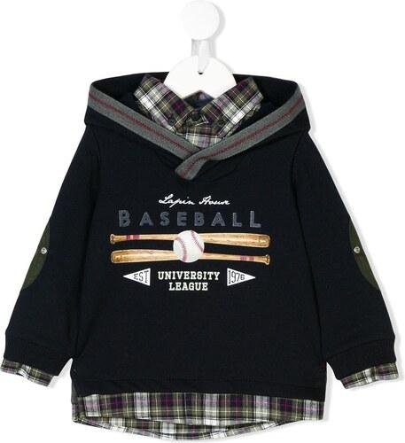 Lapin House baseball hooded shirt - Blue - Glami.sk 875aedb341a
