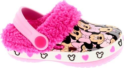 8e8969f1aa7 Disney by Arnetta Dívčí zateplené sandály Minnie - růžové - Glami.cz