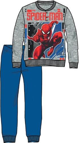 Disney by Arnetta Chlapecké pyžamo Spiderman - šedo-modré - Glami.cz 22cd9220c60