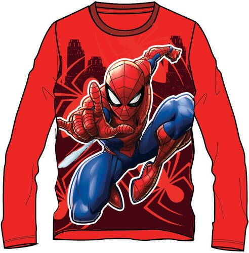 Disney by Arnetta Chlapecké tričko Spiderman - červené - Glami.cz 5bc5ee67a1d