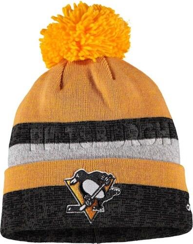 Pittsburgh Penguins zimní čepice yellowgrey Adidas Juliet adidas 63843 e4023d4269