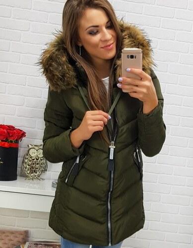 Brand Dámska bunda na zimu (ty0283) - zelená ty0283 - Glami.sk 6070f01d129