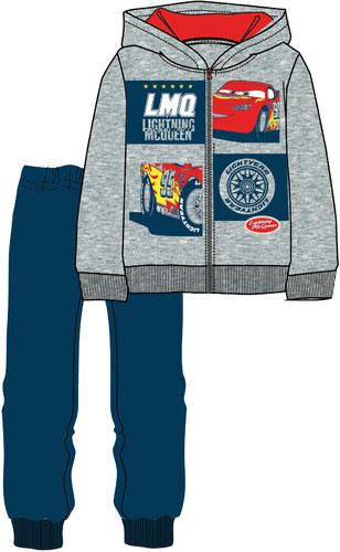 Disney by Arnetta Chlapecká tepláková souprava Cars - šedo-modrá ... 9d6d58e3e45