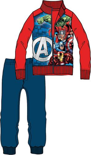 Disney by Arnetta Chlapecká tepláková souprava Avengers - červeno-modrá 044effd185b