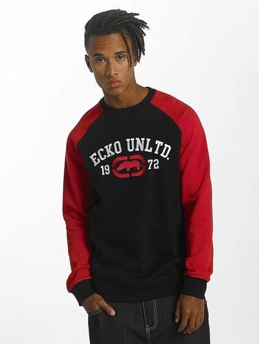 -25% Pánská červená mikina přes halvu Ecko Unltd. Jumper First Avenue 4359777a1c