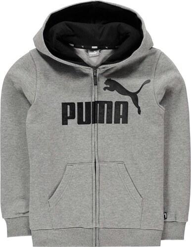 Puma No 1 Logo Zip Dětská mikina s kapucí pro kluky - Glami.sk 5d3b4684f5f