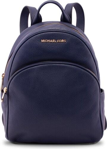 9938f8863d Michael Kors Abbey Leather MD Batoh tmavě modrý - Glami.cz