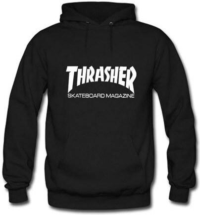 Pánská mikina Thrasher Skate Mag Hood black - Glami.cz de17b30b5d