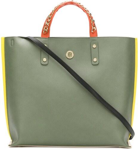 Tommy Hilfiger shopper tote - Green - Glami.cz ff84a68341e