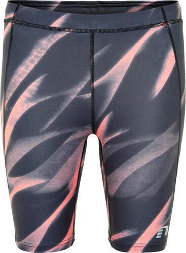45abe7e6b63d NEWLINE IMOTION Dámske bežecké krátke nohavice 70268-434 Sivá-ružová ...
