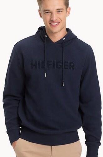 Tommy Hilfiger pánská tmavě modrá mikina Logo - Glami.cz 3b6c9f1f2c8