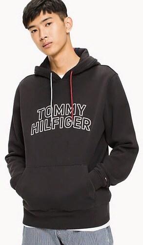 Tommy Hilfiger pánská tmavě modrá mikina Chest - Glami.cz 31624b717e3