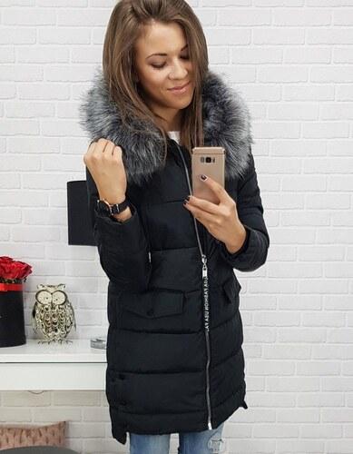 Dstreet Dámska bunda Cuarto zimná prešívaná s kapucňou čierna - Glami.sk 101a70dce7b