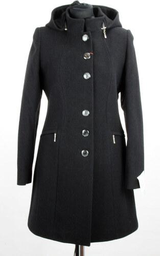 dcc84cb27ae3 Dámsky kabát vlnený SAS 616 - čierny - Glami.sk