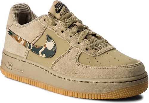 e223264dc760d Topánky NIKE - Air Force 1 (GS) 596728 202 Neutral Olive/Black ...