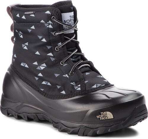 Hótaposó THE NORTH FACE - Tsumoru Boot T93MKT5UB Tnf Black Triangle Weave  Print Foil Grey 2d6dd93609