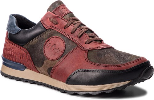 Sneakersy LEE COOPER - LCJP-18-01-021 Dk Brown Red - Glami.sk 2bb4c36655
