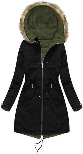 MHM Obojstranná dámska zimná bunda W212 a04a7f36333