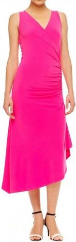 Růžové polodlouhé šaty Michael kors silver - Glami.cz 52c1133a0a3
