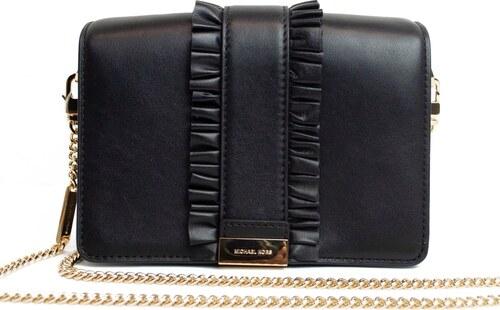 aa1ff82a15 Kabelka Michael Kors Jade leather clutch černá - Glami.cz