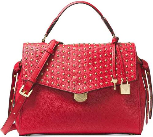 Kabelka Michael Kors Bristol Leather satchel - červená - Glami.cz fa8111b2791
