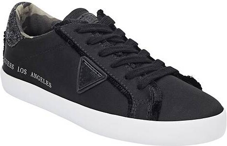 b5591a669a534 GUESS tenisky Tiger Low-Top Frayed Sneakers čierne, 11287-37.5 ...