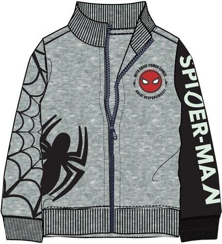 Disney by Arnetta Chlapecká mikina Spiderman - šedá - Glami.cz e73ac2c18a8