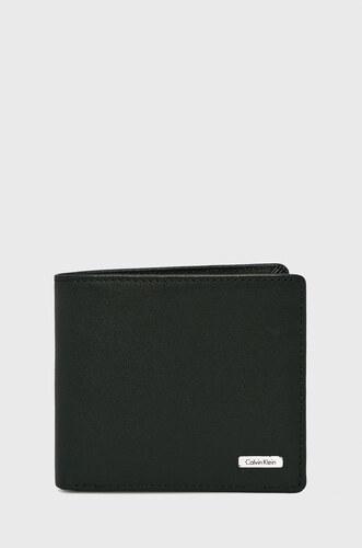 c7fd9c106 Calvin Klein - Kožená peňaženka Rail - Glami.sk
