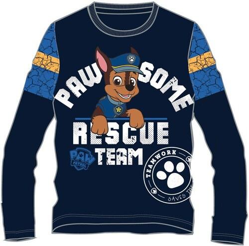 1b2dd7b630f6 Disney by Arnetta Chlapčenské tričko Paw Patrol - modré - Glami.sk