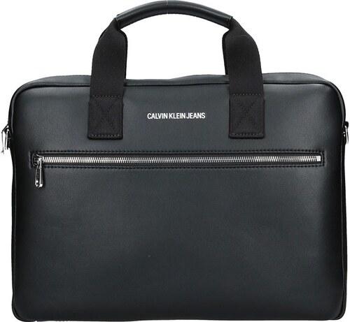 38711f56d0 Pánská taška přes rameno Calvin Klein Jeans Luca - černá - Glami.cz