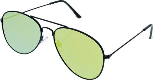 A Collection Napszemüveg Sunrise fekete keret arany színű lencsék ... 80ab3cf42b