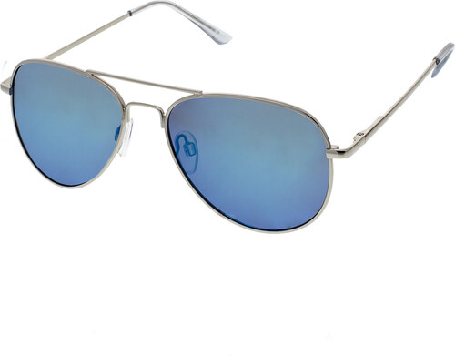 Identity Pilóta napszemüveg Miracle ezüst színű keret kék lencsék ... fdc60431c0