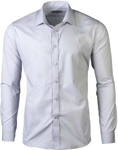 Victorio Pánské košile na manžetové knoflíky Trader šedá - Glami.cz fa98bab230
