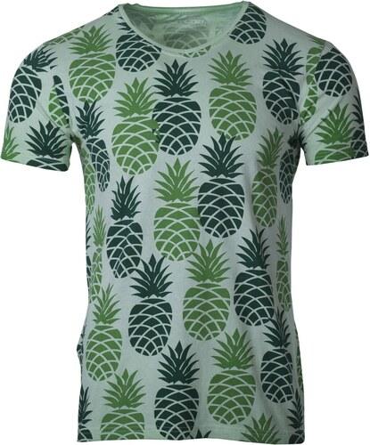 Ombre Clothing Férfi póló ananászokkal Pineapple világoszöld - Glami.hu 3ba4824f6b