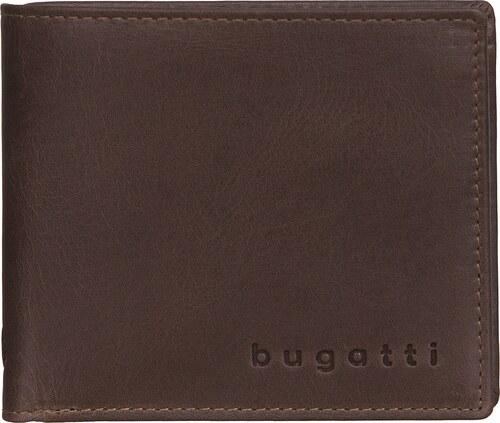 Bugatti Pánská kožená peněženka VOLO 49218202 hnědá - Glami.cz 6bc1f83b54