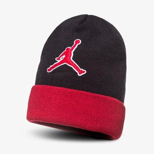 b4d20b6f609 Nike Jordan Čepice Zimní Beanie Graphic Muži Doplňky Čepice AA1302010 Černá