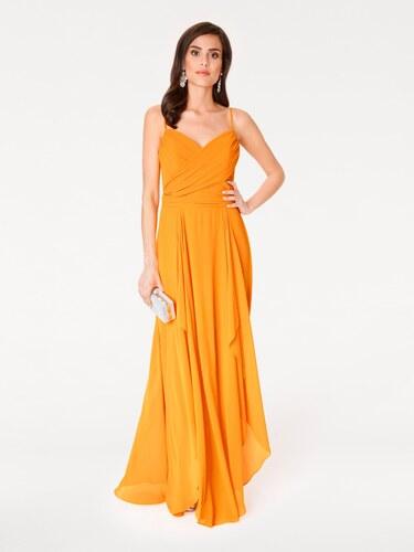 heine TIMELESS Večerné šaty žltá - Glami.sk 1411409a570