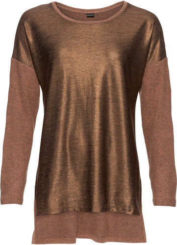 fddb7e28cf78 Bonprix Oversize džersejové tričko s metalickou potlačou - Glami.sk