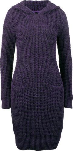 Bonprix Pletené šaty s kapucňou - Glami.sk 00583a4cf6