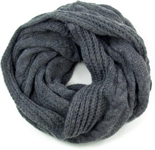 ArtOfPolo kruhový pletený šál Šedý - Glami.cz 02553fe1f2