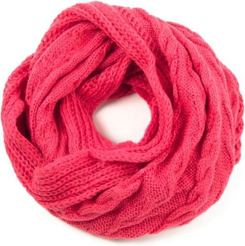 ArtOfPolo kruhový pletený šál Růžový - Glami.cz ef7dc4df37