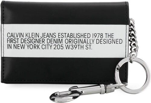 Calvin Klein Jeans keyring trifold wallet - Black - Glami.sk 72ebba5d6fa