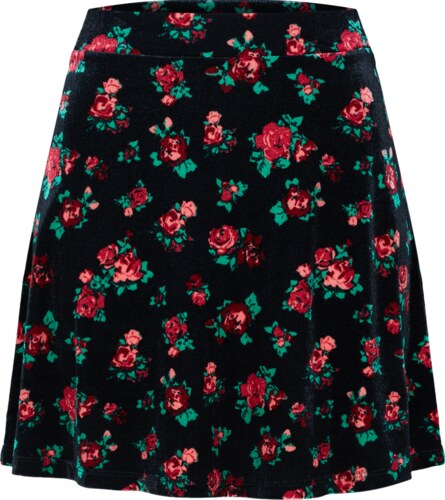ABOUT YOU Sukně  Emelie  červená   černá - Glami.cz d42635bc1a
