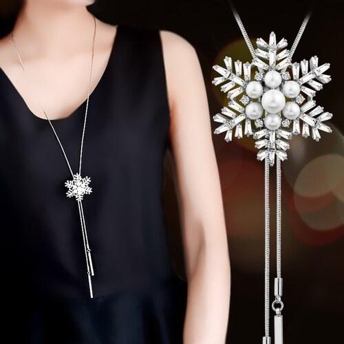 3f9d559ff B-TOP Dámsky dlhý náhrdelník S KAMIENKY