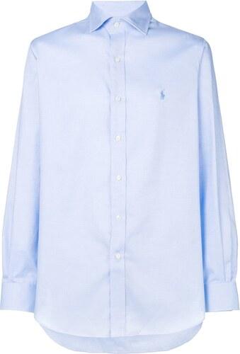 Polo Ralph Lauren pointed collar shirt - Blue - Glami.sk fbdd4221026