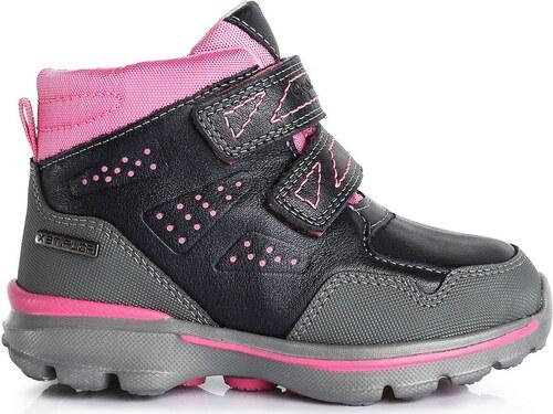 D.D.step Dívčí zimní boty - šedo-růžové - Glami.cz 7cc9c6cad9