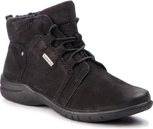6e227ba63605 Magasított cipő JOSEF SEIBEL - Fabienne 51 92466 VL904 100 Schwarz ...